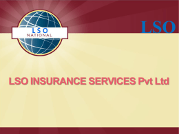 P l a n D o w n l o a d - LSO Insurance Services Pvt Ltd