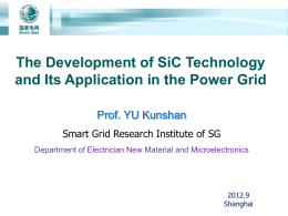 Power Grid and SiC Technology – 2012-SEP
