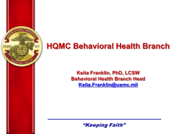 MF Mission and Vision - Behavioral Health Information Network