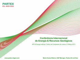 partex – oil production - Feira Internacional de Lisboa