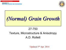 Grain Growth (normal) for 7 Apr 2014