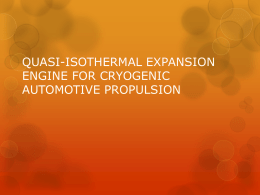 QUASI-ISOTHERMAL EXPANSION ENGINE FOR
