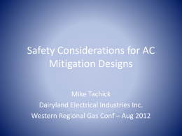 Lightning, AC Faults, and Over-Voltage Protection