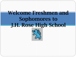 File - JH Rose Student Services