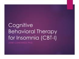 VA Training in Cognitive Behavioral Therapy for Depression (CBT-D)