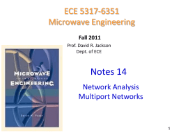 Notes 14 - Network analysis