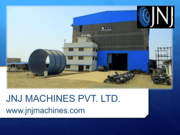 JNJ Machines Profile