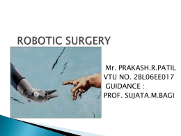 Robotic Surgery Report.ppt