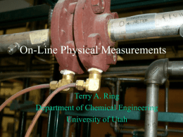 On-Line Physical Measurements-1
