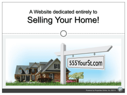 Listing Domains - Properties Online, Inc