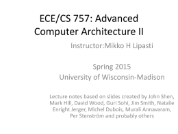 PPT - CS 757 - University of Wisconsin