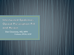 Intertwined Epidemics: Opioid prescription misuse and