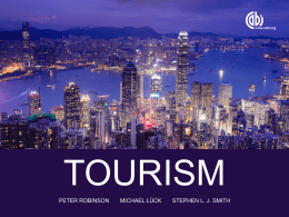 Tourism Planning Organizations
