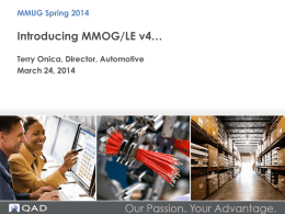 MMOG/LE - Version 4 - Midwest User Group