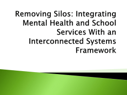 Interconnected Systems Framework in Pennsylvania