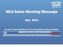 May Broker Sales Messaging