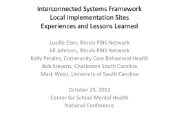 Interconnected Systems Framework