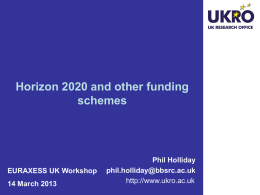 Horizon 2020 - British Council