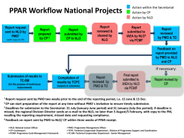 PPAR Workflow Regional Projects 1 Report request sent by