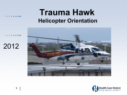 Helicopter Landing and Safety – Palm Beach