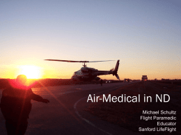 Air-Medical in ND by Mike Schultz