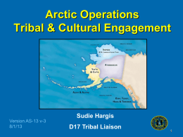 Tribal and Cultural Engagement
