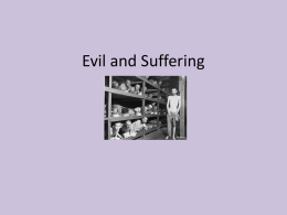 Evil and Suffering revision PP