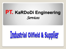 PT. KaRDoDi Engineering Services