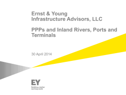 EY Infrastructure Advisors, LLC PPP Structure Overview Public