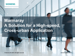 Siemens - UIC ERTMS World Conference 2014