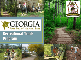 Trail Maps - Georgia State Parks and Historic Sites