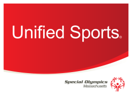 Unified Sports - Special Olympics Massachusetts
