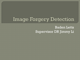 Image_Forgery_Detection_presentation_Baden_Letts