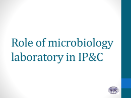Microbiology - International Federation of Infection Control