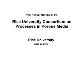 Faculty & Collaborators - Rice University -