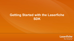 EDM212: Getting Started with the LF SDK