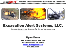 Excavation Alert Systems, LLC