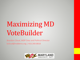 Maximizing-MD-VoteBuilder
