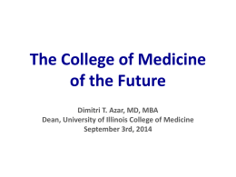 Dean Azar - University Medical Student Council