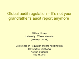audited - University of Oklahoma