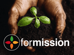 the Formission Powerpoint Presentation