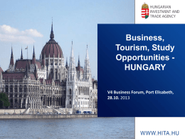 Hungary - Cape Chamber of Commerce