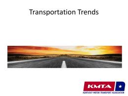 Trucking Trends - Louisville Sustainability Council