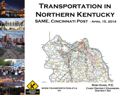 Kentucky Transportation Cabinet, District 6