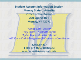 here - Murray State University