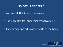 Colorectal Cancer in Kentucky: A Presentation for the Community