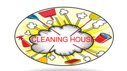 Cleaning House-Mgt of Surplus