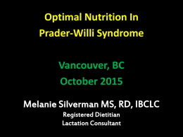 Melanie Silverman MS, RD, IBCLC Registered Dietitian Lactation