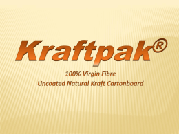 Kraftpak - Warren Board