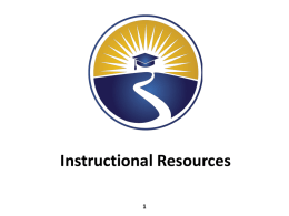 FAIR-FS Instructional Resources